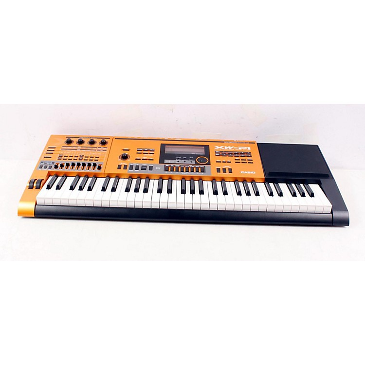 Casio XW-P1 Chrome Orange Performance Synthesizer Regular 888365018669