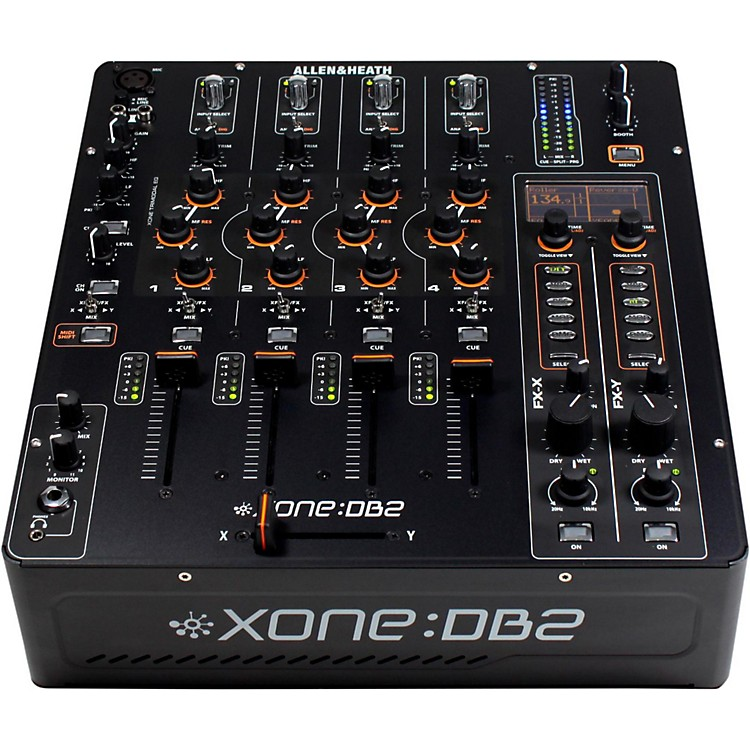 Allen & Heath Xone:DB2 4-Channel Digital DJ Mixer w/ Effects & MIDI
