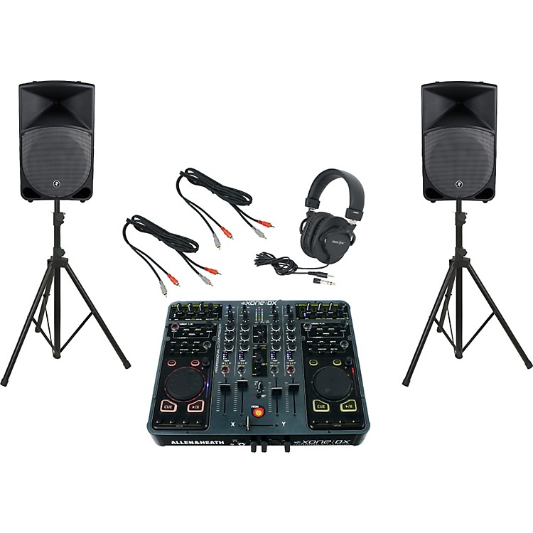 Allen & HeathXone:DX / Mackie Thump TH-15A DJ Package