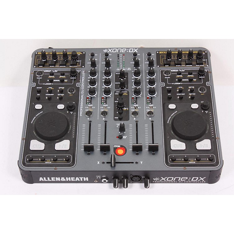 Allen & Heath Xone:DX USB MIDI Controller with Serato Itch Regular 886830791482