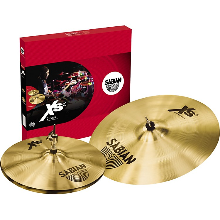 Sabian Xs20 2 Pack, Brilliant