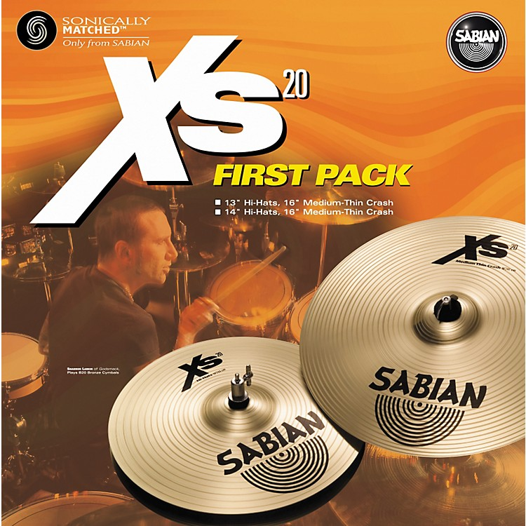 Sabian Xs20 First Pack - 14