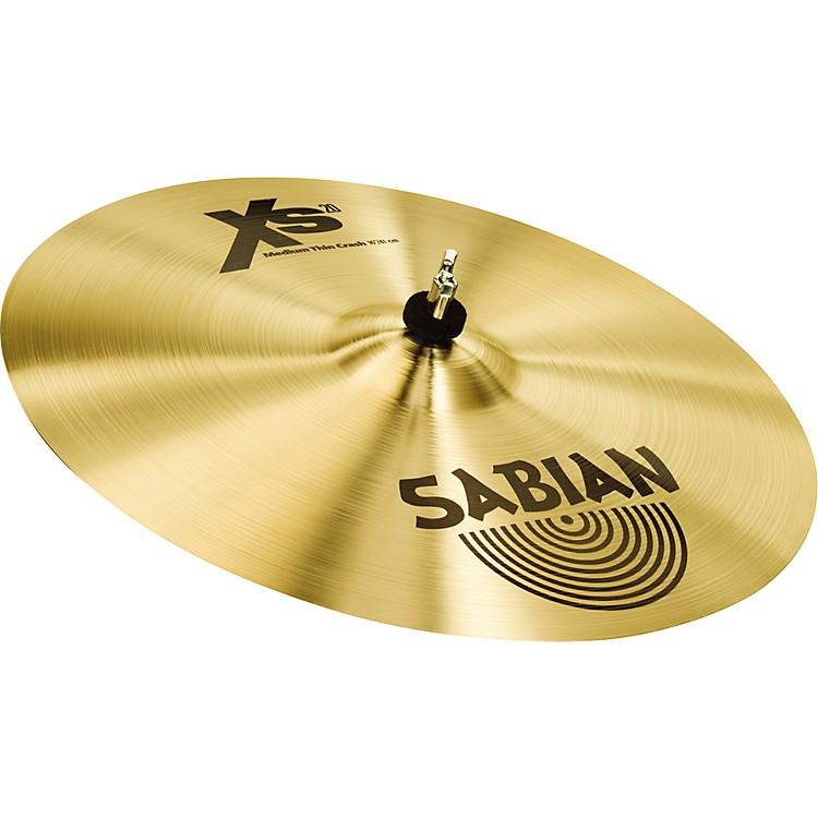 SabianXs20 Medium Thin Crash Cymbal14 in.