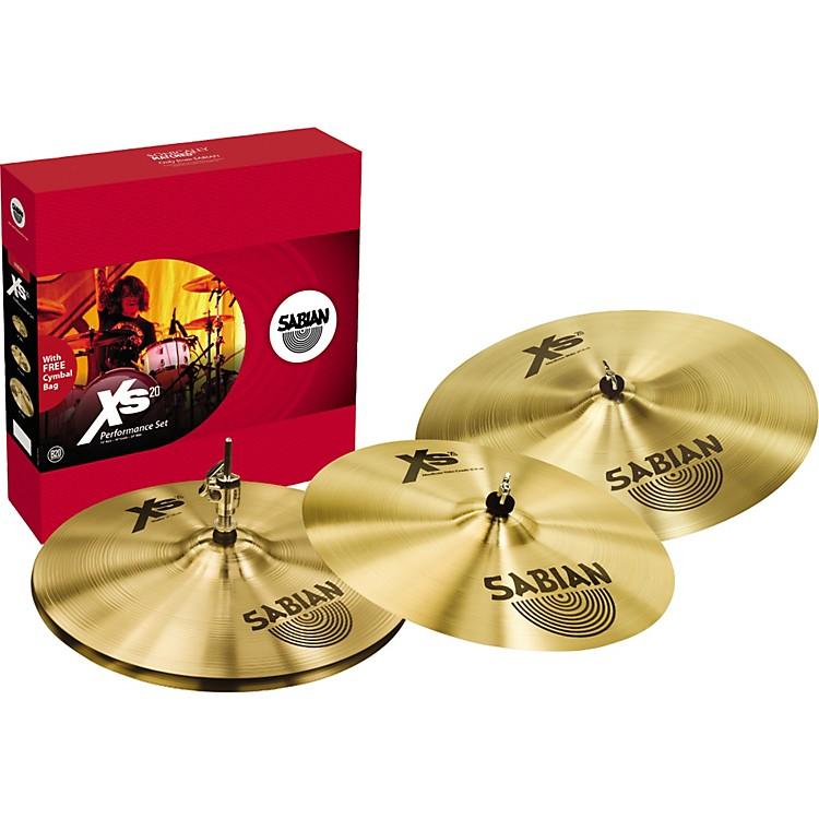 SabianXs20 Performance Cymbal Pack Brilliant