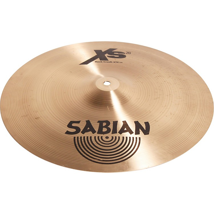 SabianXs20 Rock Crash Cymbal16 in.