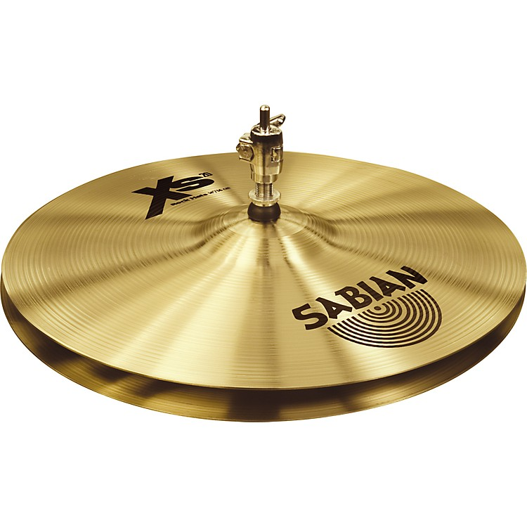 Sabian Xs20 Rock Hi-hat Cymbals, Brilliant 14 in.