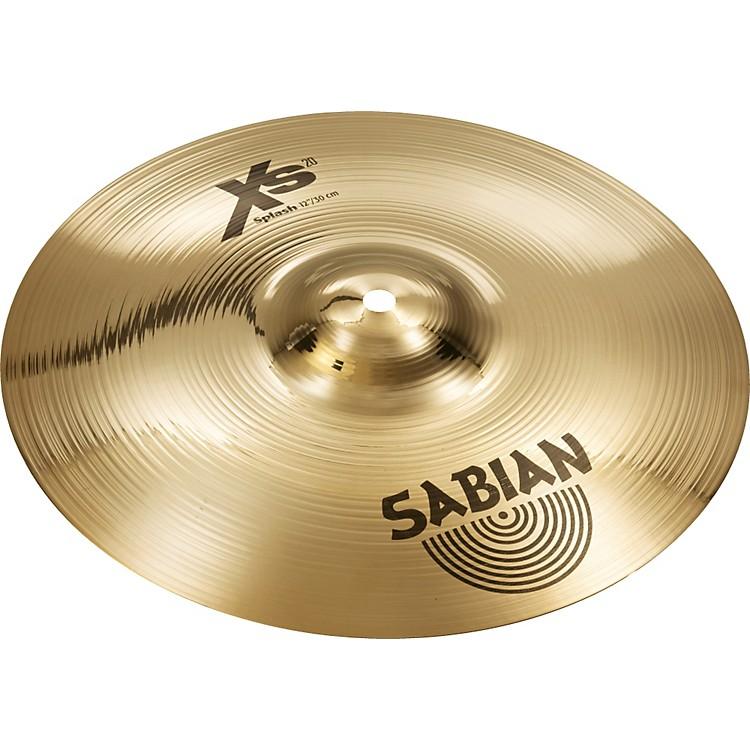 SabianXs20 Splash, Brilliant12 in.