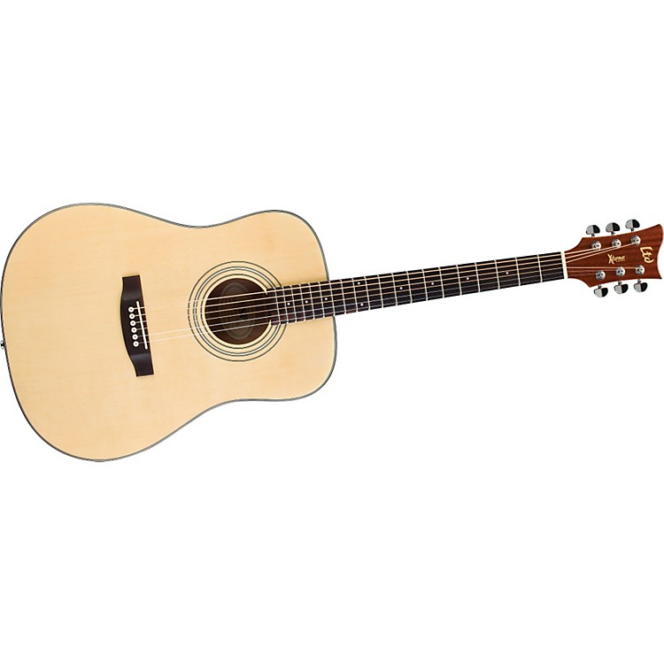 ESP Xtone D-5 Acoustic Guitar Natural
