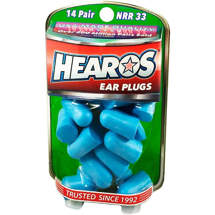 Hearos Xtreme Protection Series Ear Plugs 14 Pair + Free Case