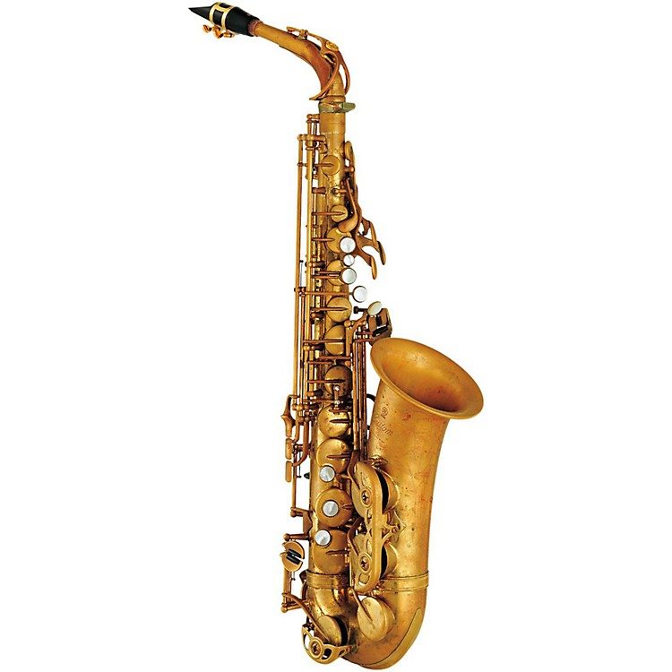 Yamaha YAS-82ZII Custom Z Alto Saxophone Un-lacquered without high F#