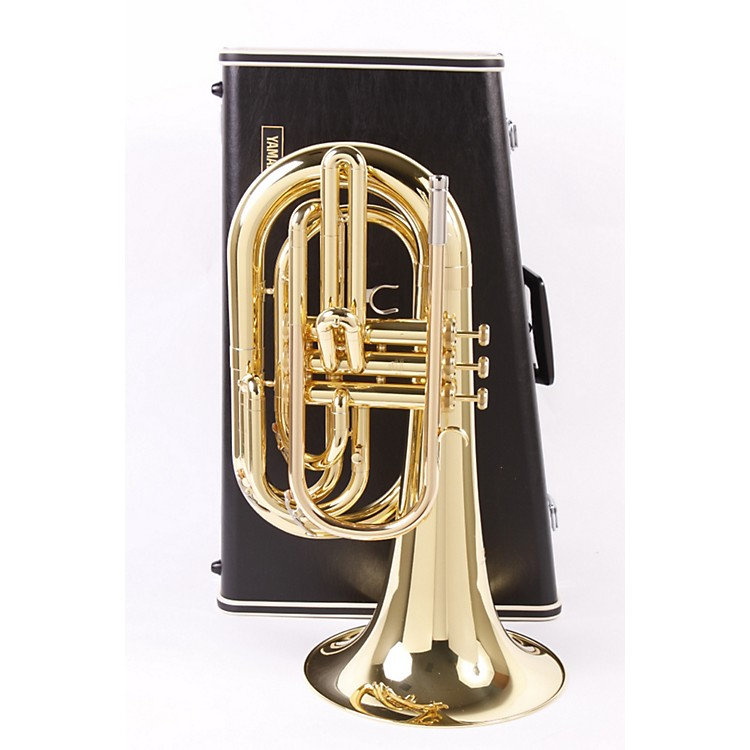 Yamaha YBH-301M Series Marching Bb Baritone Lacquer 886830455605