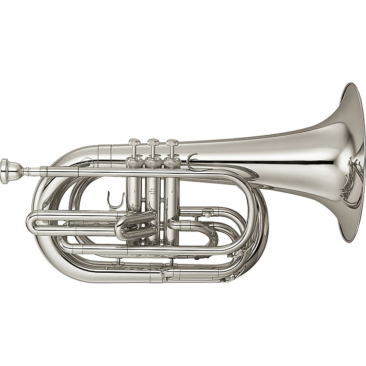 Yamaha YBH-301M Series Marching Bb Baritone Silver