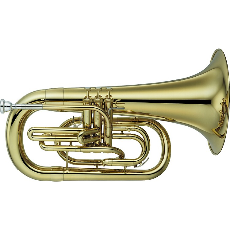 Yamaha YEP-202M Series Marching Bb Euphonium Lacquer
