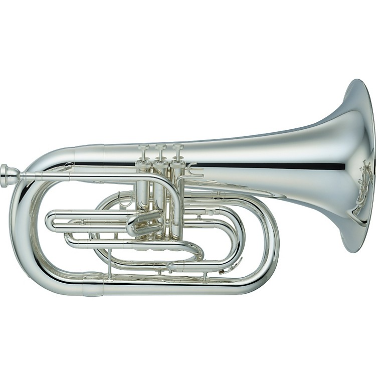 Yamaha YEP-202M Series Marching Bb Euphonium Silver