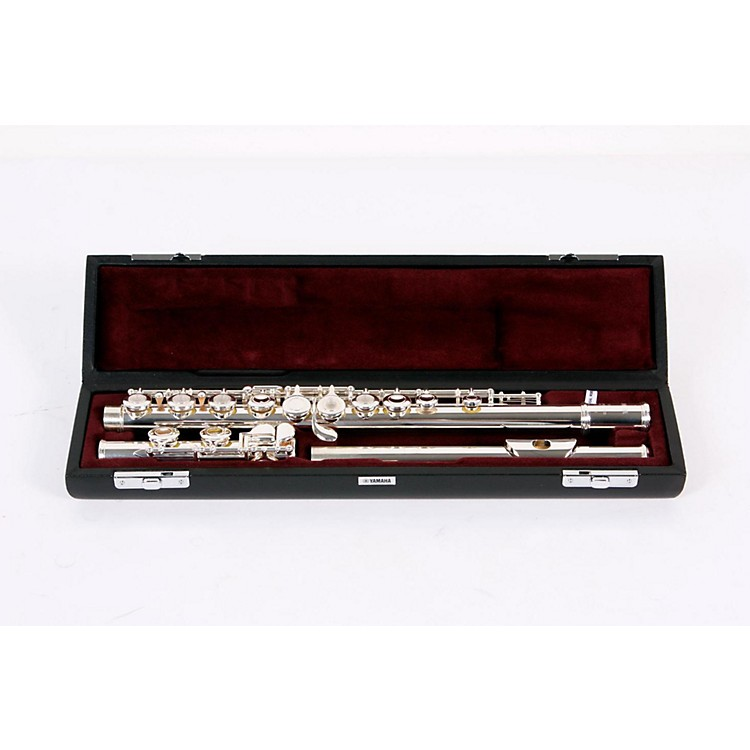 Yamaha YFL-461 Series Intermediate Flute YFL461 C Foot, Offset G 888365128948