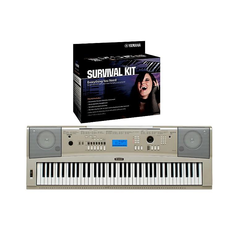 YamahaYPG-235 76-Key Portable Grand Piano Keyboard with D2 Survival Kit