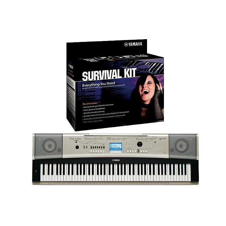 Yamaha YPG-535 88-Key Portable Grand Piano Keyboard with 88B Survival Kit