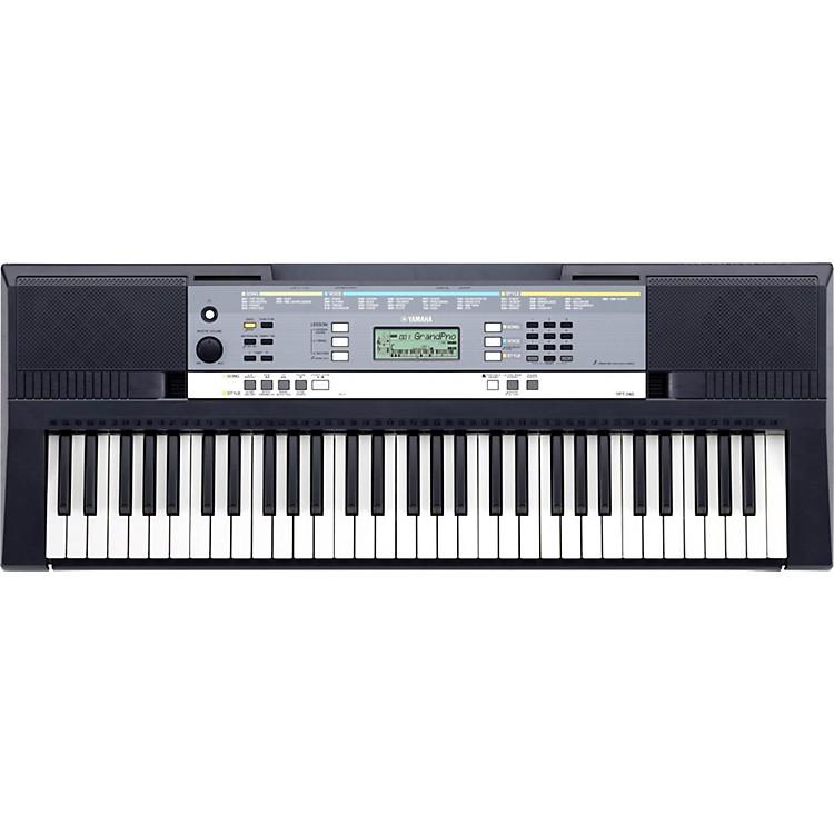 yamaha ypt 240 61 key portable keyboard music123. Black Bedroom Furniture Sets. Home Design Ideas