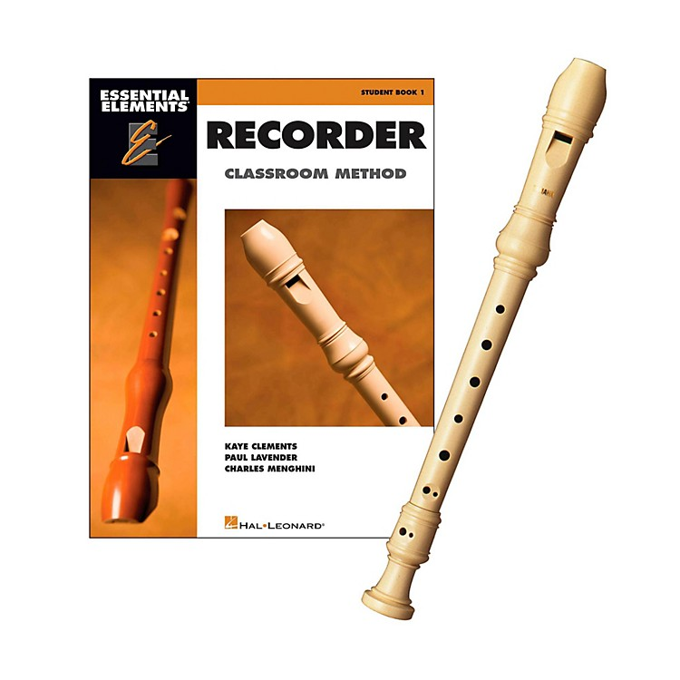 Yamaha YRS-24BY Soprano Recorder & Classroom Method Instructional Book