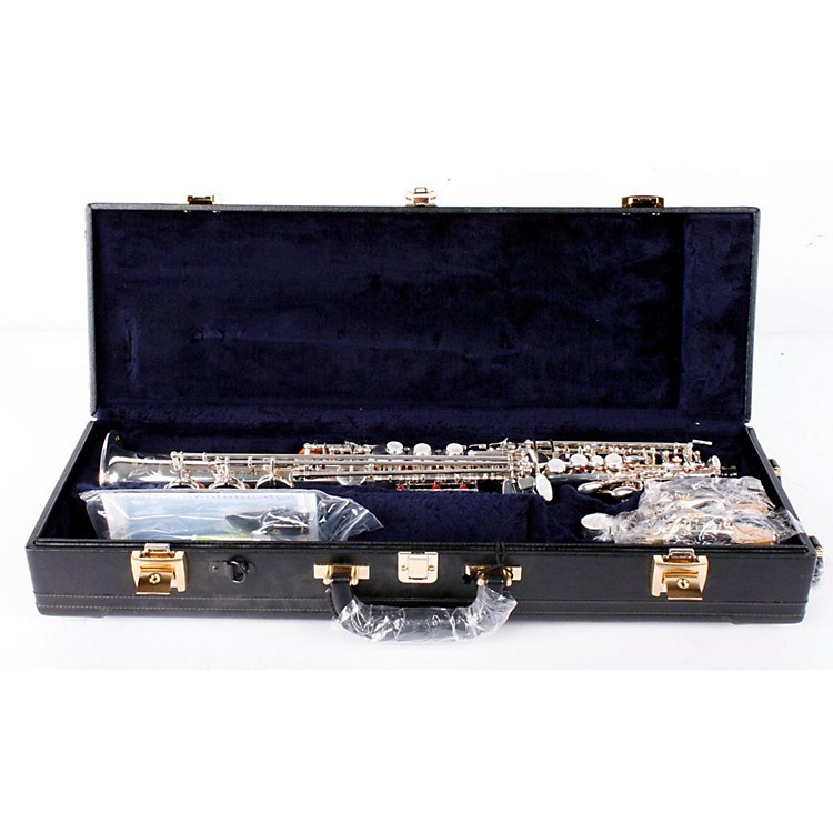 Yamaha YSS-875EX Custom EX Soprano Saxophone Silver Plated with High G 888365020136