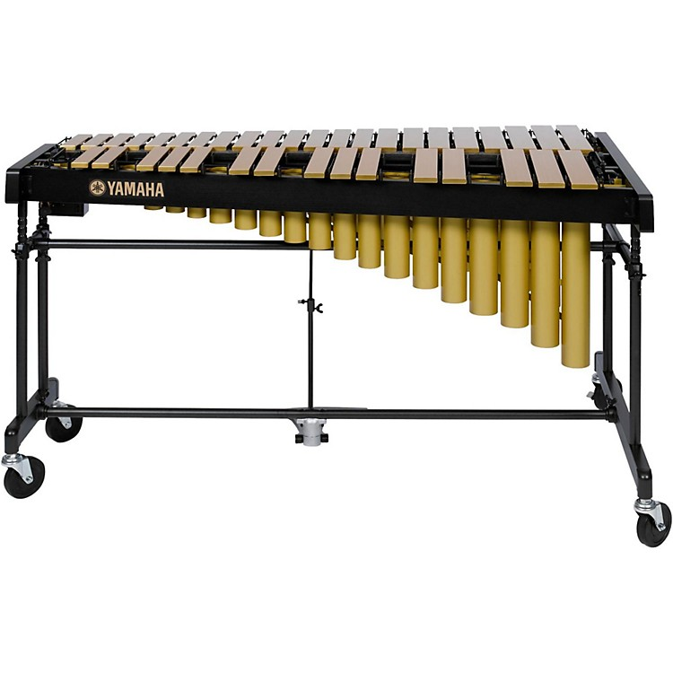 YamahaYV-2700GC 3 Octave Intermediate Vibraphone, Gold With Cover