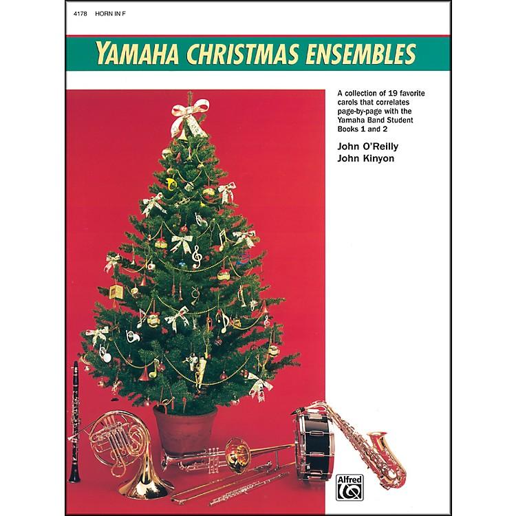 AlfredYamaha Christmas Ensembles Horn in F