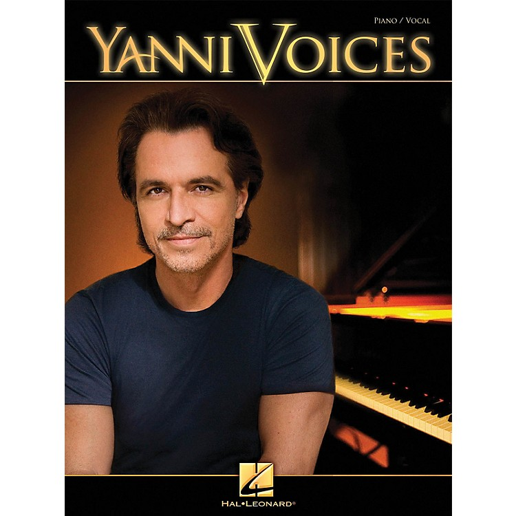 Hal Leonard Yanni - Voices Vocal Piano Songbook