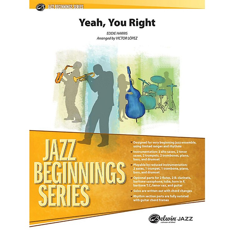 AlfredYeah, You Right Jazz Band Grade 1 Set