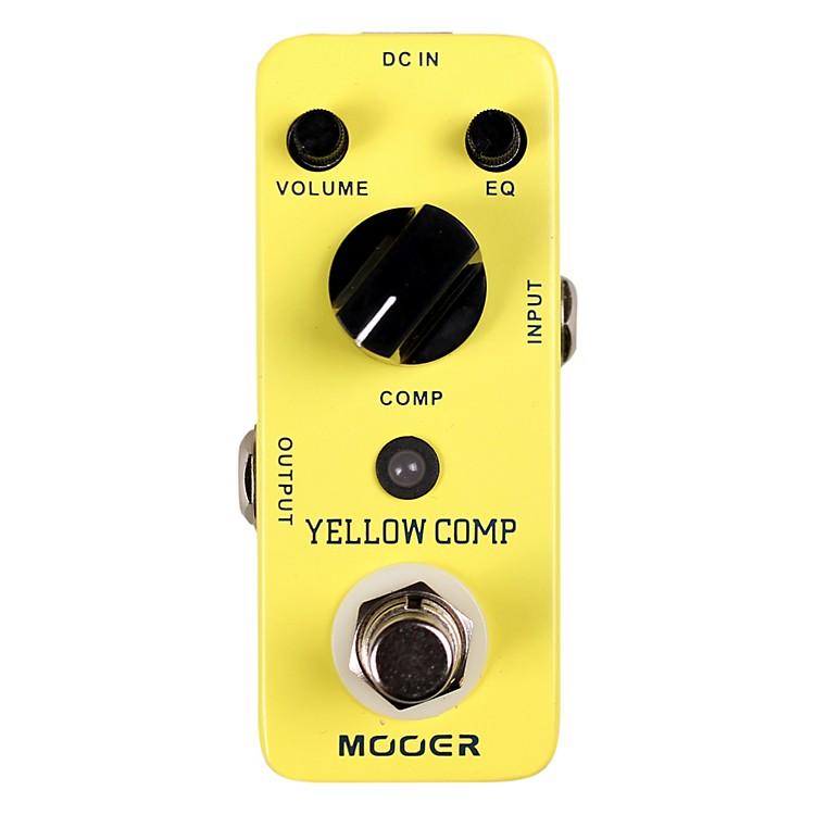 MooerYellow Comp Optical Compressor Guitar Effects Pedal