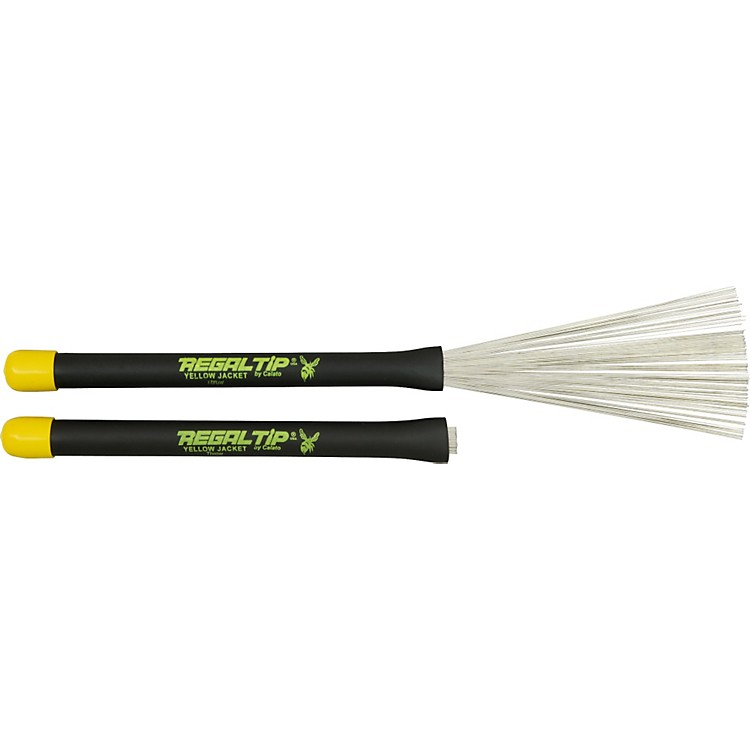 Regal Tip Yellow Jacket Throw Brush