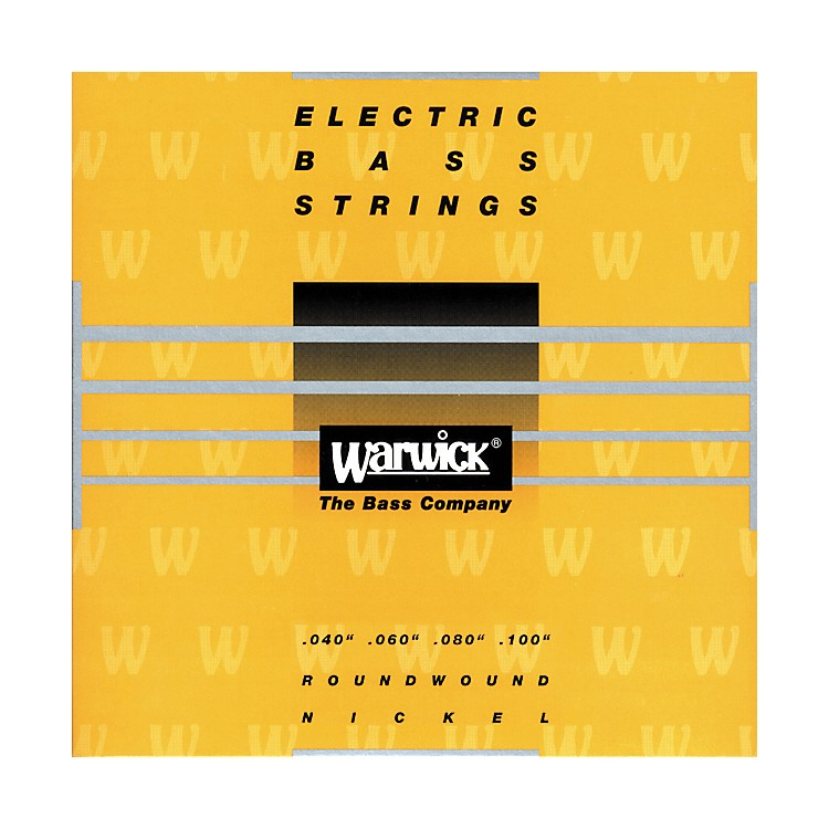 Warwick Yellow Label Nickel Medium Light 4-String Bass Strings