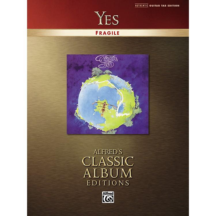 AlfredYes Fragile Classic Album Edition Guitar Tab (Book)