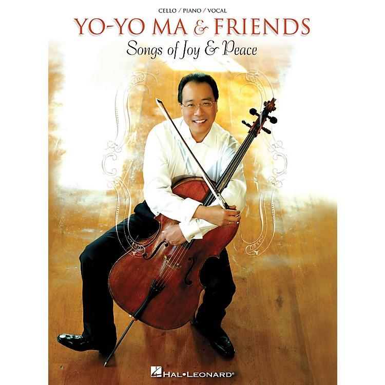 Hal LeonardYo-Yo Ma - Songs Of Joy & Peace for Piano/Vocal/Guitar