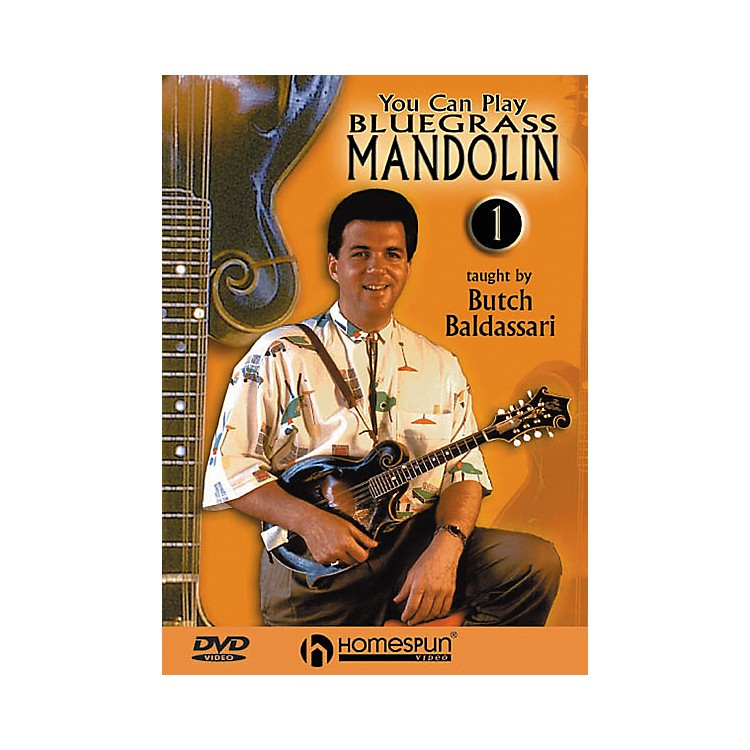 Homespun You Can Play Bluegrass Mandolin 1 (DVD)