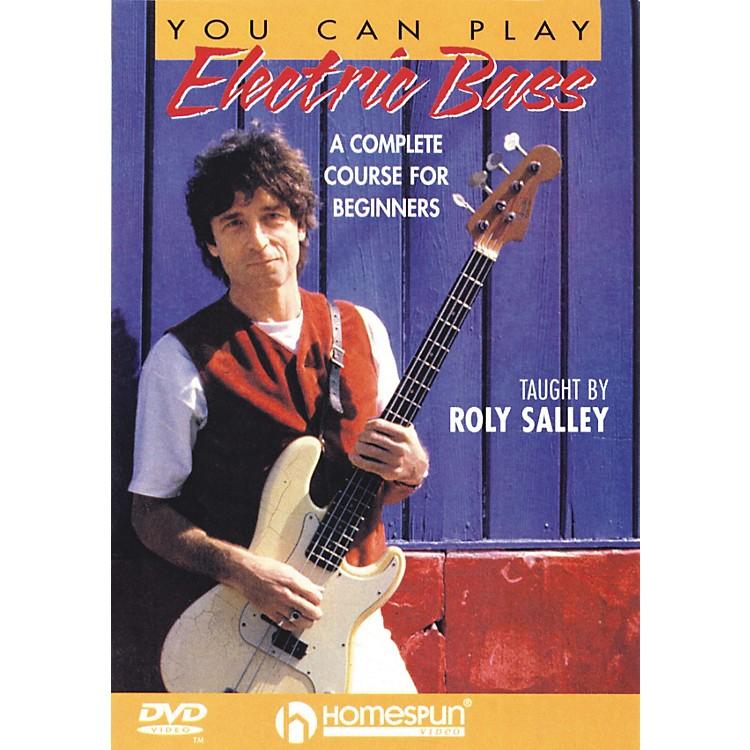 HomespunYou Can Play Electric Bass (DVD)