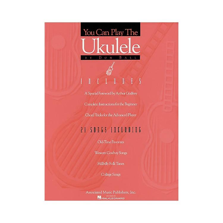 AssociatedYou Can Play the Ukulele Book