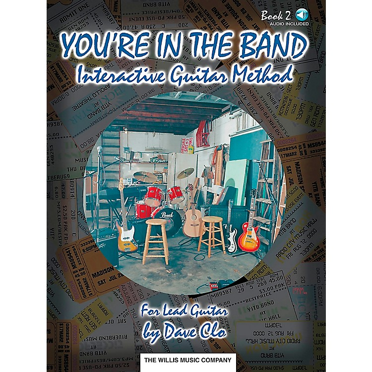 Willis MusicYou're In The Band Interactive Guitar Method Book 2 for Lead Guitar Book/CD