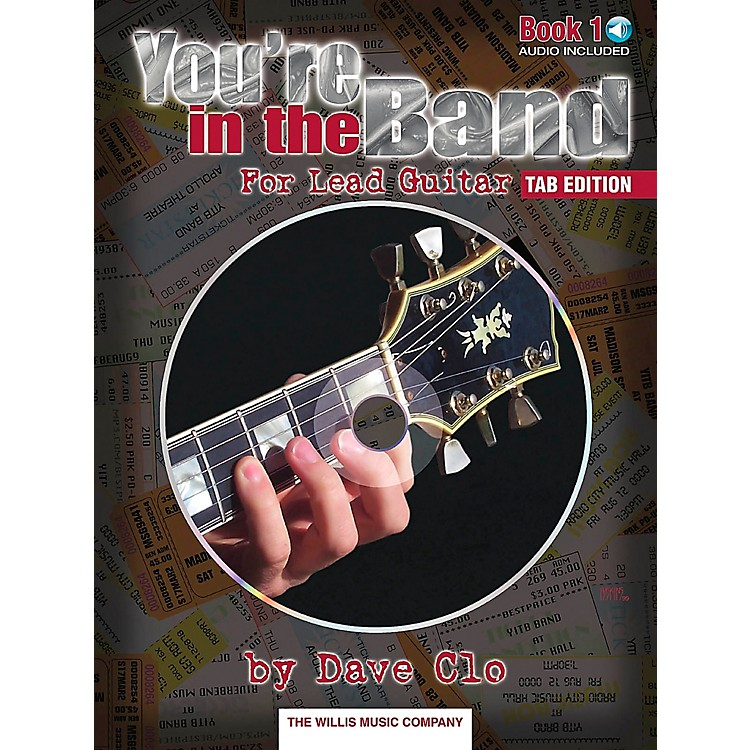 Willis MusicYou're In The Band Lead Guitar Book 1 Tab Edition Book/CD