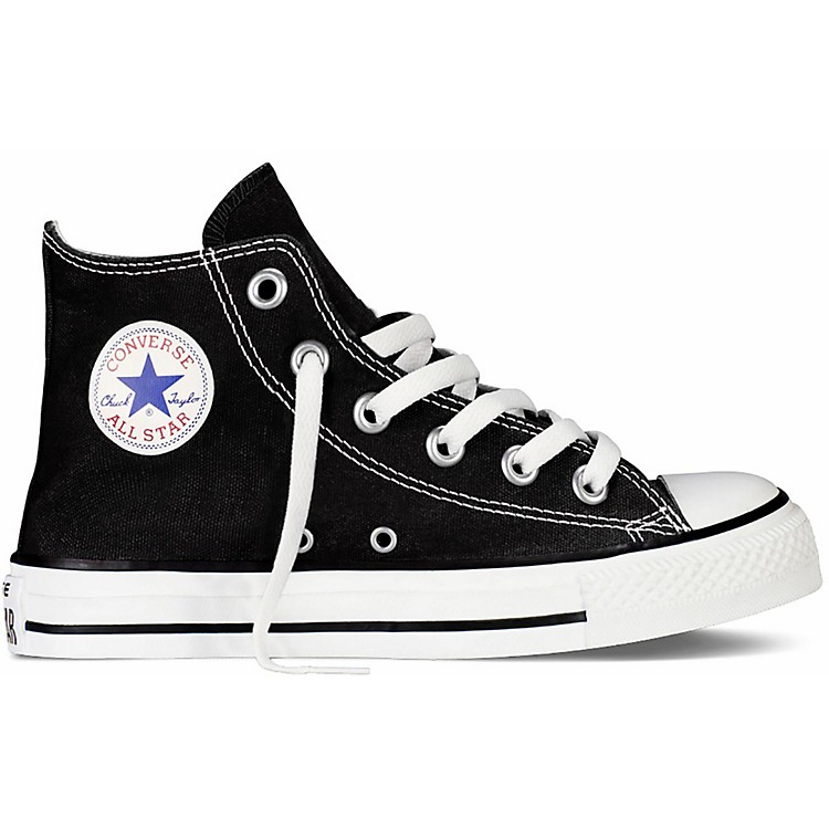 Converse Youth Chuck Taylor All Star Hi Top Black 12