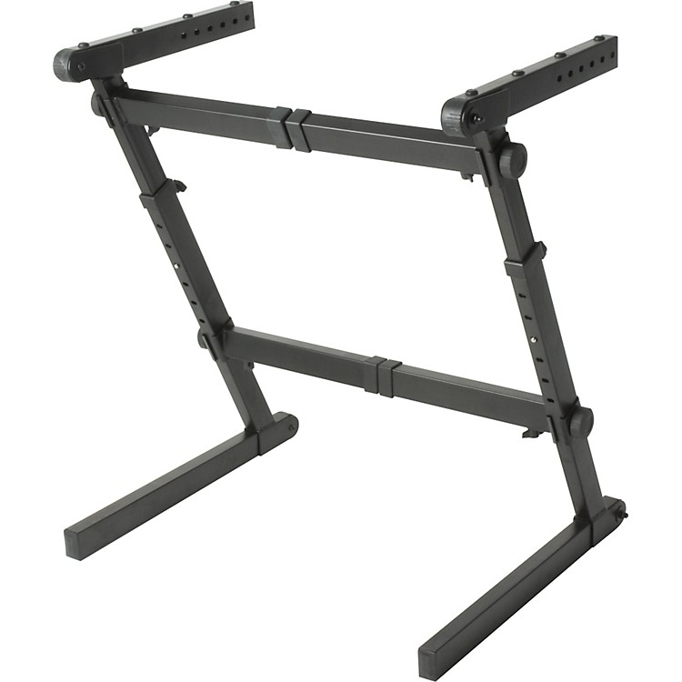 Quik-LokZ-70 Width and Height Adjustable Z Keyboard Stand