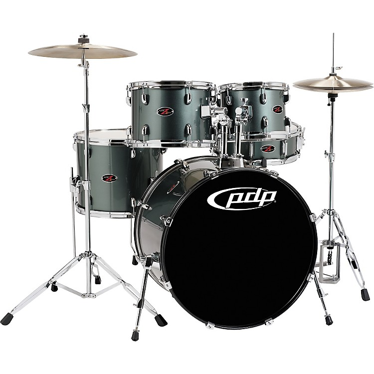PDP Z5 5-Piece Shell Pack  Grey Metal