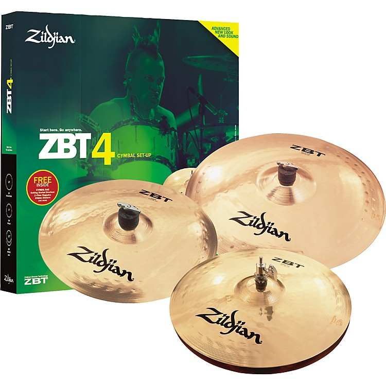 ZildjianZBT 4-Piece Starter Set