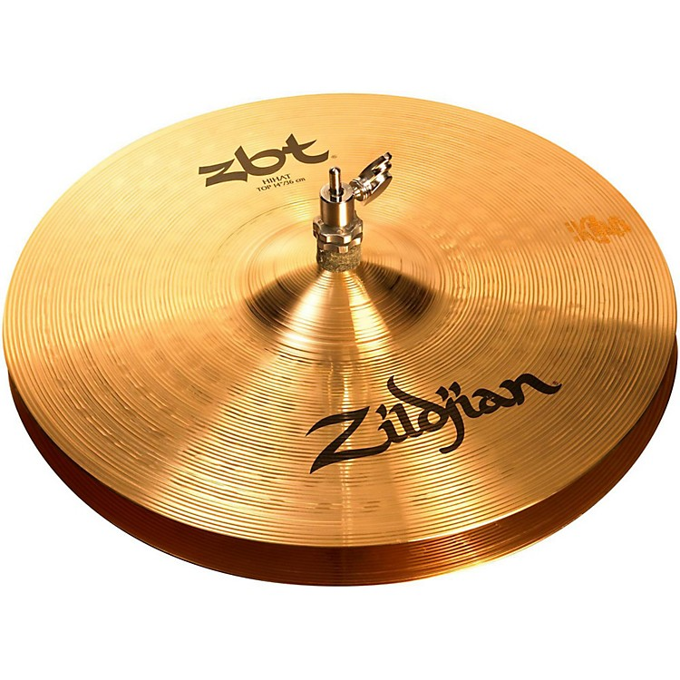 Zildjian ZBT Hi-Hat Cymbal Pair  14 Inches