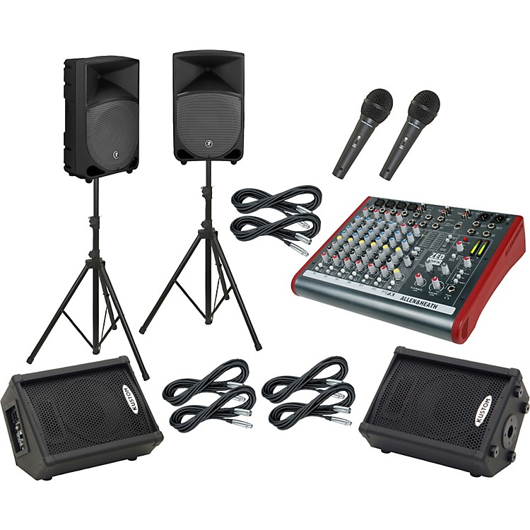 Allen & Heath ZED 10FX / TH-12A Mains & Monitors Package