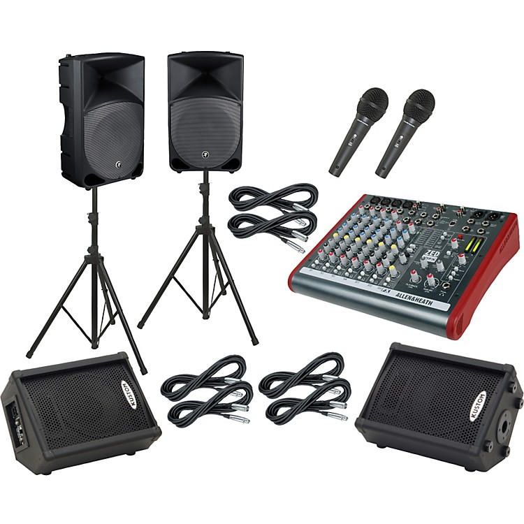 Allen & Heath ZED 10FX / Thump TH-15A Mains & Monitors Package