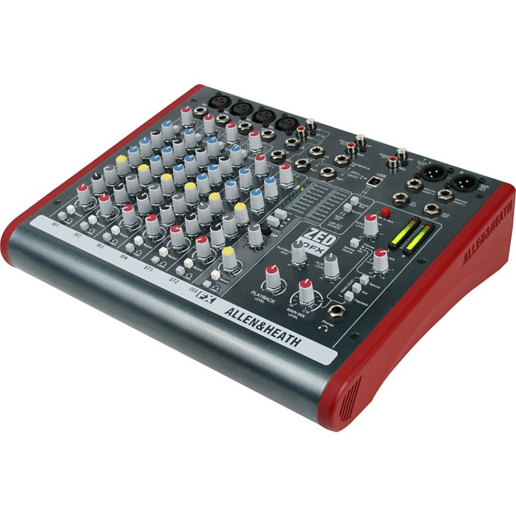 Allen & HeathZED-10FX 10-Channel USB Mixer with Effects