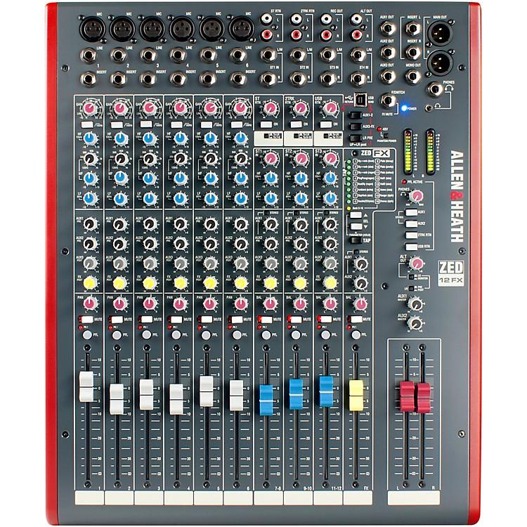 Allen & HeathZED-12FX USB Mixer with Effects