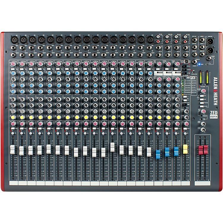 Allen & HeathZED-22FX USB Mixer with Effects