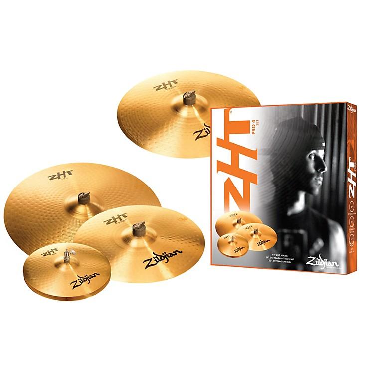 ZildjianZHT 4 Pro Box Cymbal Set