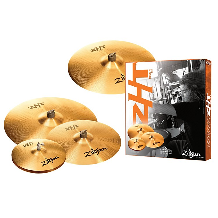 Zildjian ZHT 4 Rock Box Cymbal Set